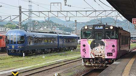 京都丹後鉄道KTR8000形「丹後の海」が米子へ
