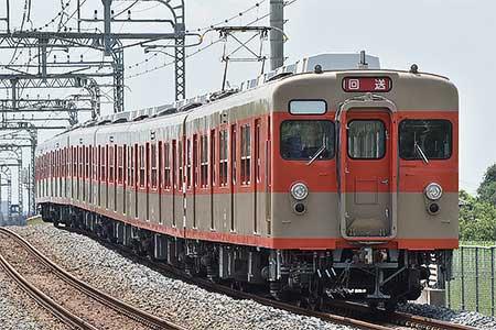 東武鉄道8000系8111編成が南栗橋車両管区へ
