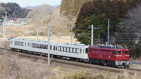 「TOUHOKU EMOTION」が郡山総合車両センターへ