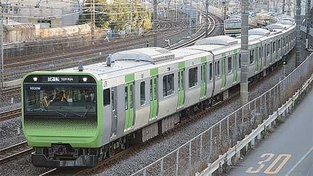 E235系が東海道貨物線で試運転