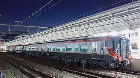 JR四国2600系の甲種輸送が行なわれる