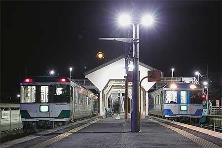 キハ185-20が定期列車に充当される