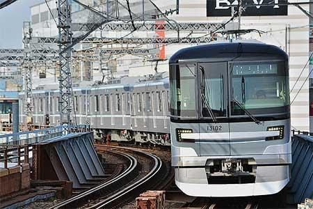 東京メトロ13000系が本格的な営業運転を開始