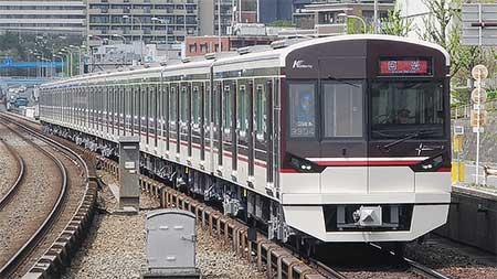 北大阪急行電鉄9000系9004編成が試運転を実施