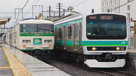 E231系マト110編成が長野総合車両センターから出場