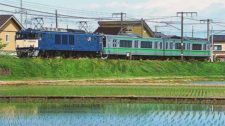 E127系V12編成が長野へ