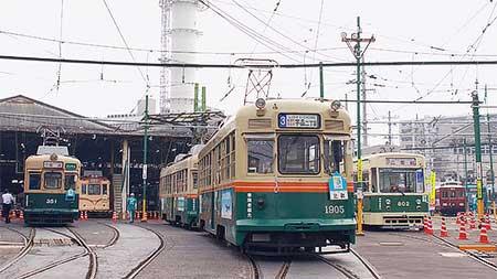 広電で『第22回 路面電車まつり』開催