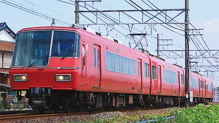 名鉄5700系5601編成が運用離脱