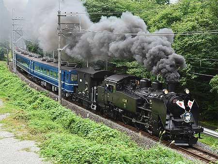 東武鉄道鬼怒川線でSL「大樹」が営業運転を開始