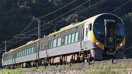 JR四国8600系が再び伯備線で走行試験