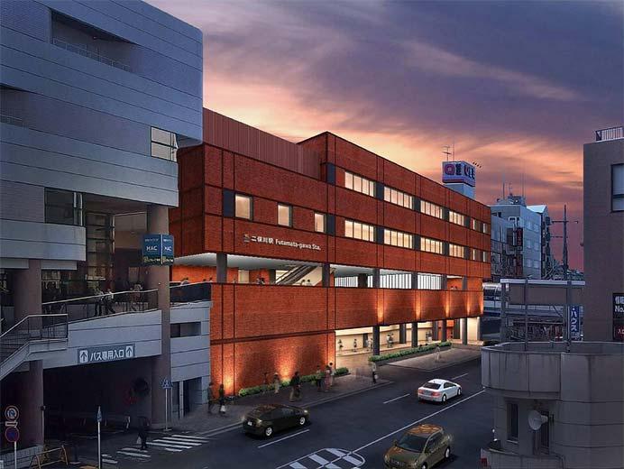 相鉄,二俣川駅の全面リニューアルを実施中