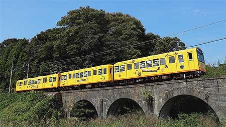 三岐鉄道北勢線で「ナロウィントレイン」運転