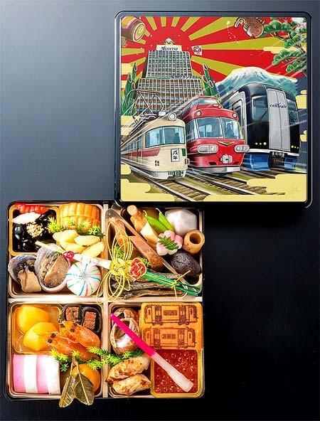 名鉄グランドホテル開業50周年記念「名鉄電車おせち」販売