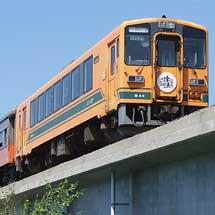 津軽鉄道でストーブ列車の客車を使った臨時列車運転