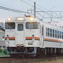 美濃太田車両区のキハ40・キハ48形の残る5両が笠寺へ