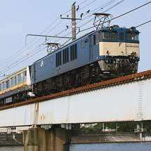 E233系8000番台N24編成が配給輸送される