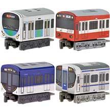 はこてつ西武鉄道30000系/京浜急行2100形/京阪電車3000系/西日本鉄道3000形