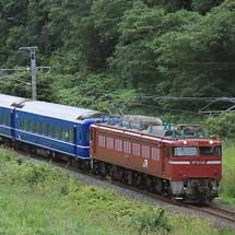 24系8両が長野へ回送される