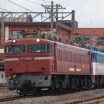 EF81 403+EF81 502+ED76 1016の三重連運転