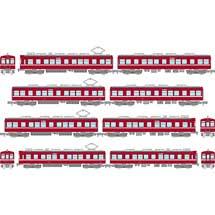 鉄コレ京浜急行電鉄1000形 分散冷房車(2次量産車)6両セットA/2両セットA