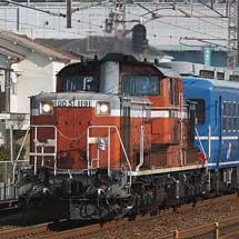DD51プッシュプルによる12系使用の訓練運転