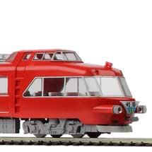 1:80名鉄7000系パノラマカー プラキット 先頭車2輌セット/中間車2輌セット