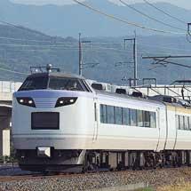 485系「いろどり(彩)」が,しなの鉄道線に入線