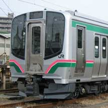 JR東日本,東北本線などにE721系1000番台を導入