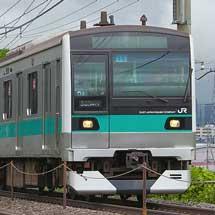 E233系2000番台マト15編成が回送される