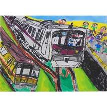 第34回「メトロ児童絵画展」作品募集