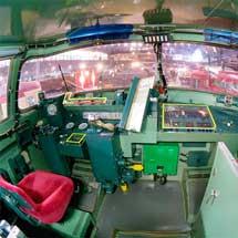 鉄道博物館で「クハ481形式電車(485系電車)運転室」公開