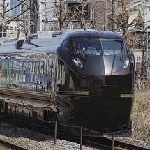 E655使用のお召列車運転