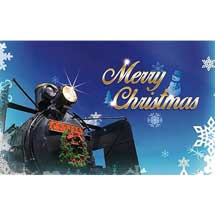 12月16日〜25日鉄道博物館でクリスマスシーズンのイベント開催