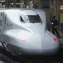 N700系7000番台S1編成,試運転で新大阪へ