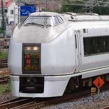 651系,4連単独で上野へ