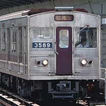 谷町線30系3089編成,中央線で試運転