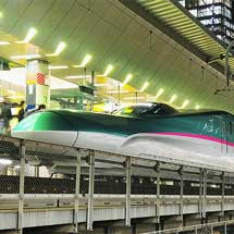 E5系が東京へ初入線