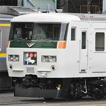 田町車両センターの185系にスカート変更車