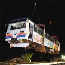 ナガラ10,長良川鉄道へ戻る