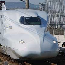 N700系8000番台R2編成が山陽新幹線へ初入線