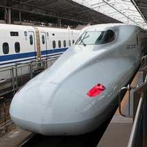 山陽新幹線でN700系7000番台の試乗会