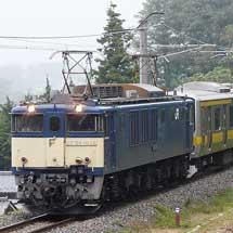 E231系もとミツ27編成が配給輸送される