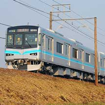 名古屋市交N3000形が名鉄線内で試運転