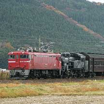 旧客5両とC11 325が返却される