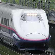 E2系J72編成が団臨で上越新幹線を走行