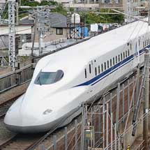 N700Aが試運転で東京へ