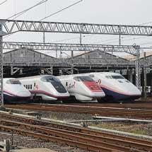 新潟新幹線車両センターが一般公開される