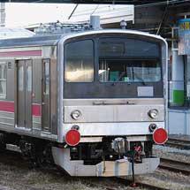 富士急6000系が甲種輸送される