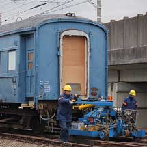オハ35 2329が浜松へ
