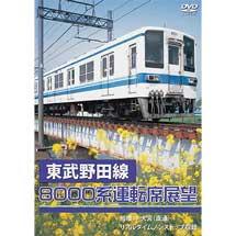 東武野田線8000系運転席展望船橋→大宮(直通)リアルタイムノンストップ収録